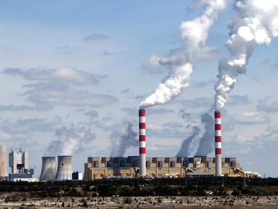 Poland's coal-fired Belchatow Power Station released 38 million tons of carbon dioxide into the atmosphere in 2018.