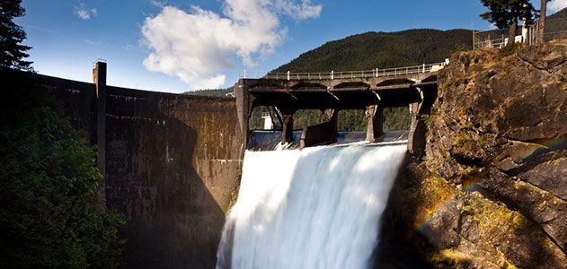 Elwha River dam