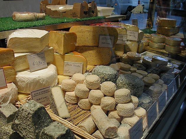 Parisian cheese shop