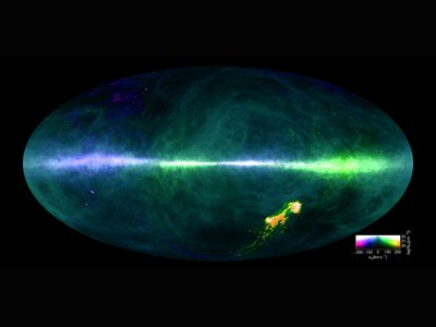 A new map reveals the most detailed picture of hydrogen atoms in the Milky Way ever made.