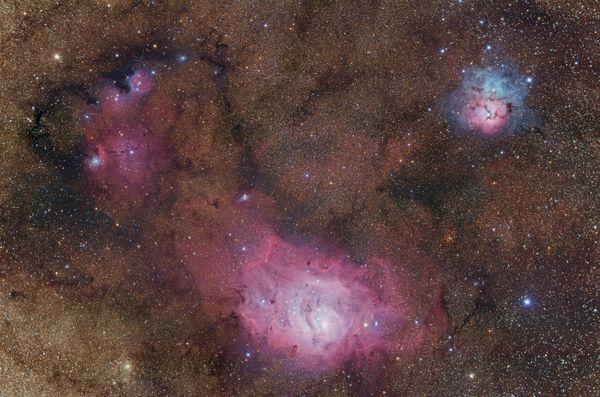 Stellar Nurseries in Sagittarius thumbnail
