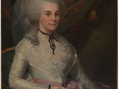 Elizabeth Schuyler Hamilton (Mrs. Alexander Hamilton), 1787, Ralph Earl (1751-1801).