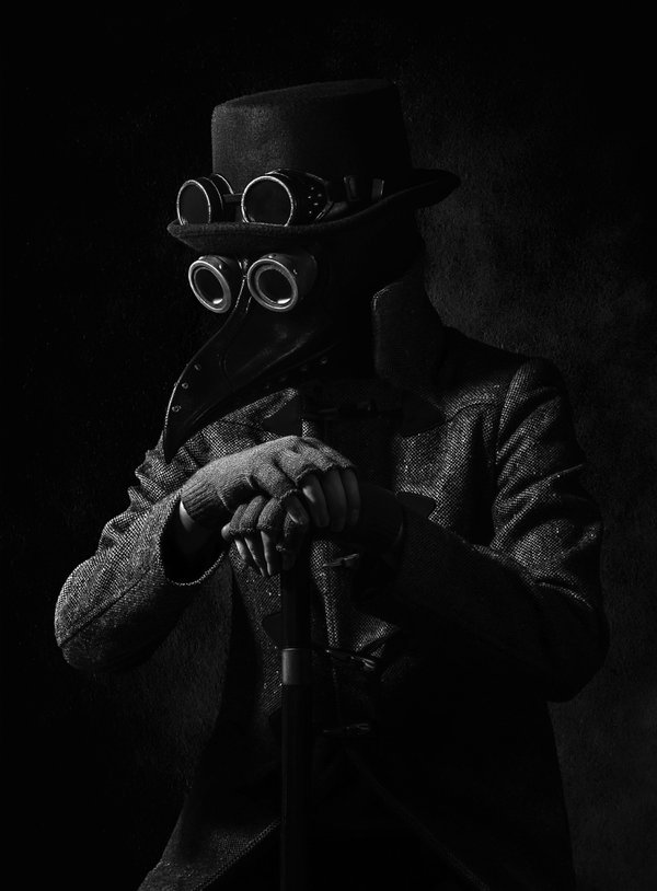 2020 Halloween Plague Doctor Portrait thumbnail