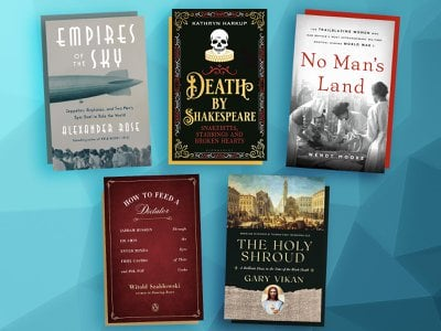 This week's titles include Death By Shakespeare, Empires of the Sky and How to Feed a Dictator.