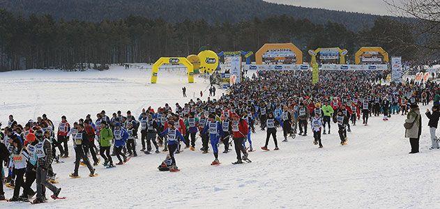 La Ciaspolada snowshoe race