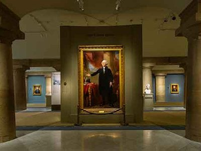 The Smithsonian's National Portrait Gallery boasts the only public collection of images depicting every single U.S. president throughout history.