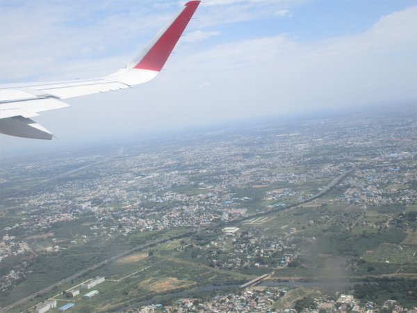 What-A-View: Chennai from the Sky.  thumbnail