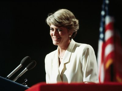 When Geraldine Ferraro accepted the Democratic party's nomination on July 19, 1984, she became the first woman to be a major party's candidate for vice president.