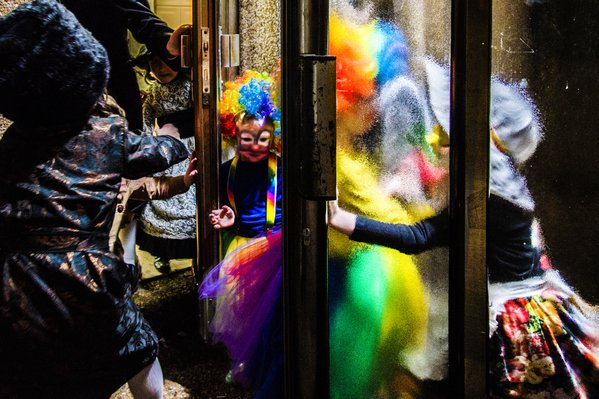 Purim (Jewish holiday, characterized by using costumes - somehow like Halloween) thumbnail