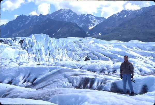 The Photographer - Matanuska Glacier, Alaska on July 4th thumbnail