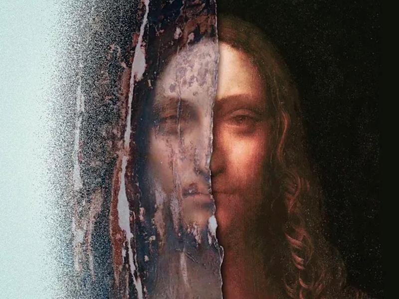 """Promotional banner for """"The Lost Leonardo"""""""