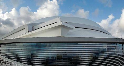 The ballpark of the future in Miami
