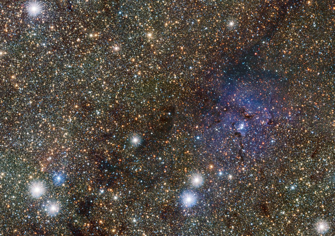 These Cosmic Visions Include a Moon Parade and a Naked Nebula