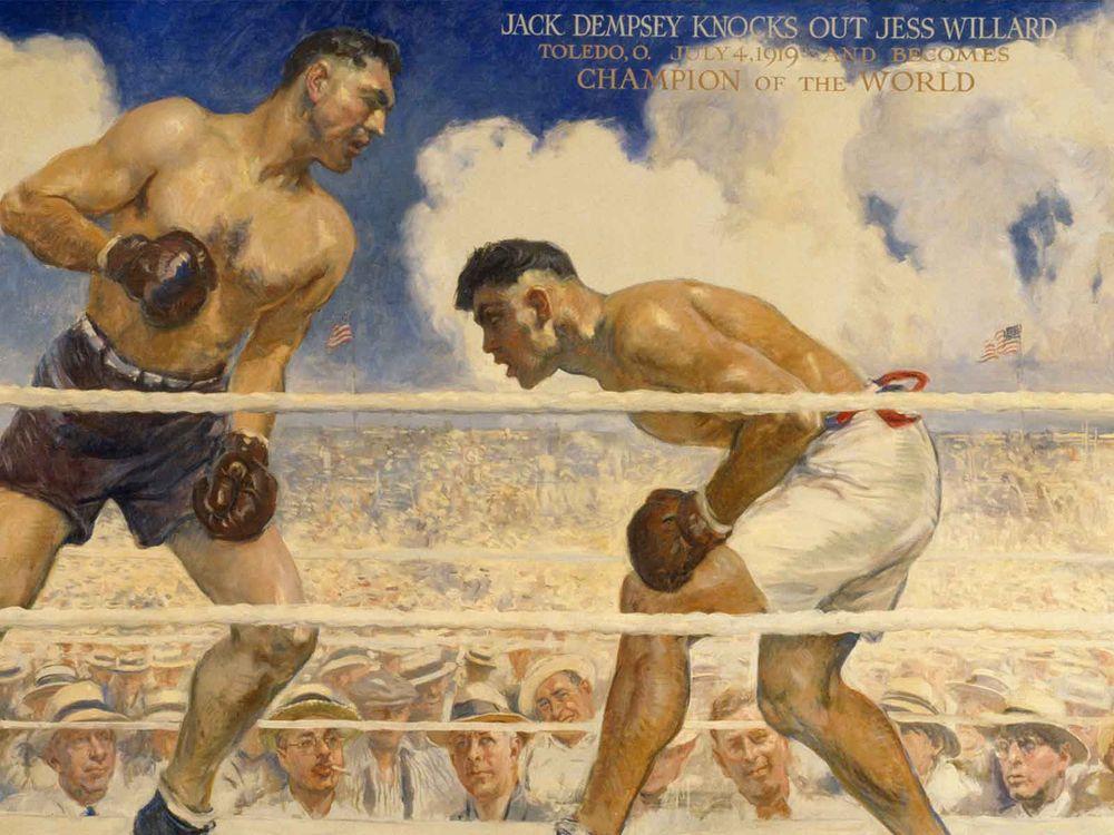Dempsey-Willard Fight detail