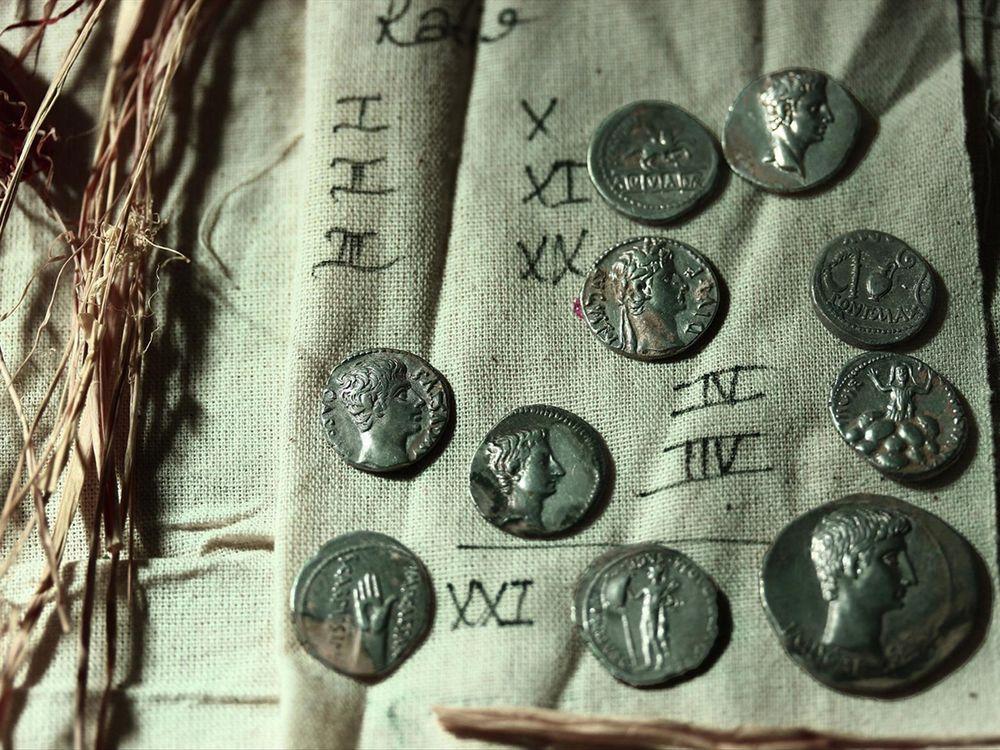 600 Roman Coins