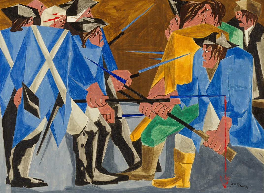 Another Long-Lost Jacob Lawrence Painting Resurfaces in Manhattan