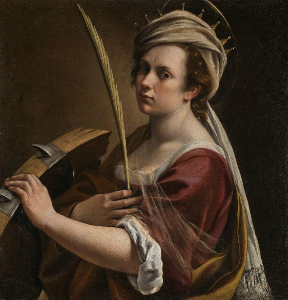 X-Ray Analysis Reveals Self-Portrait Hidden Under Artemisia Gentileschi Painting