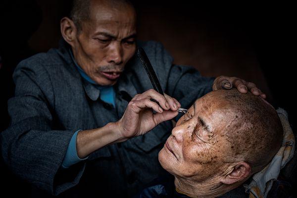 Village barber shop thumbnail
