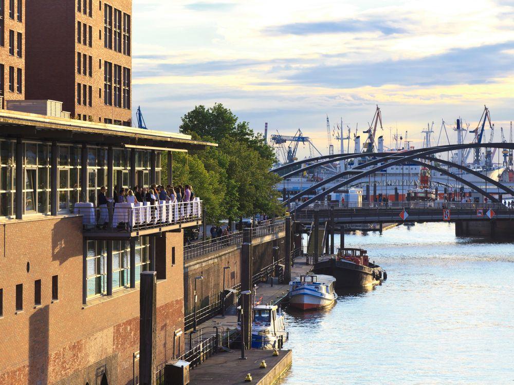 Germany, Hamburg, Speichrstadt and Hafencity district