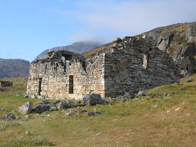 Church ruins from Norse Greenland's Eastern Settlement