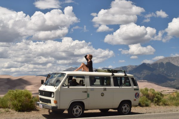 Volkswagen Wanderlust at the Great Sand Dunes of Colorado  thumbnail