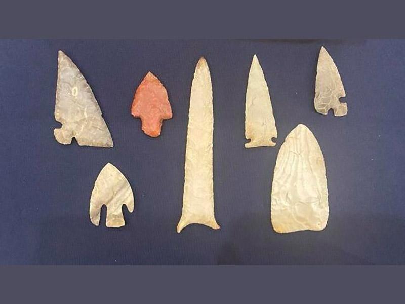 Smuggled artifacts