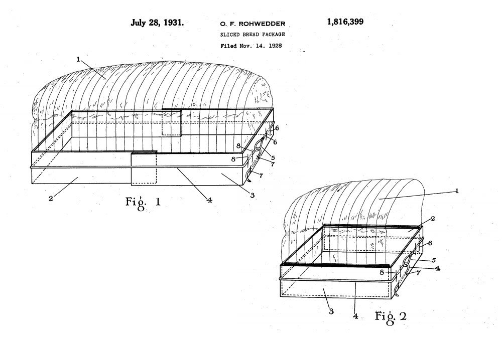 Take a Look at the Patents Behind Sliced Bread