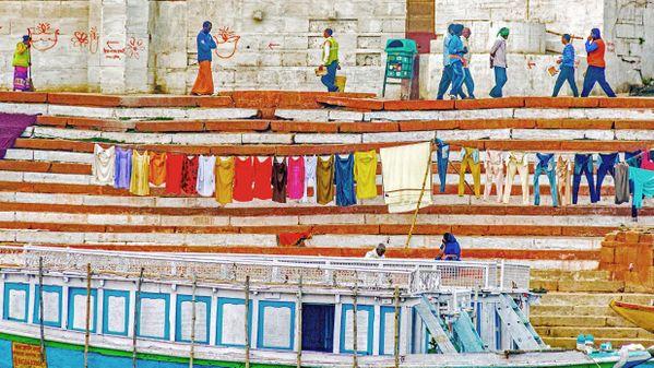 Wash Day in Varanasi thumbnail
