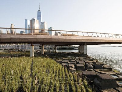 Pier 26 in Tribeca is the first revitalized pier to open to the public in the Hudson River Park in ten years.