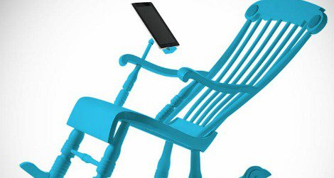 Part rocking chair, part charging station