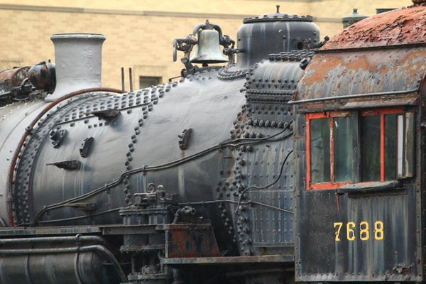 A weathered, rusty steam locomotive thumbnail