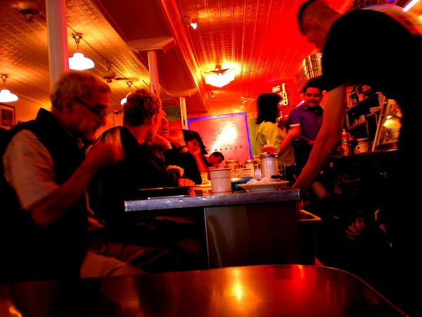 A Diner,americana? you bet,the ultimate interactive meal with people form all over the nation and the world thumbnail