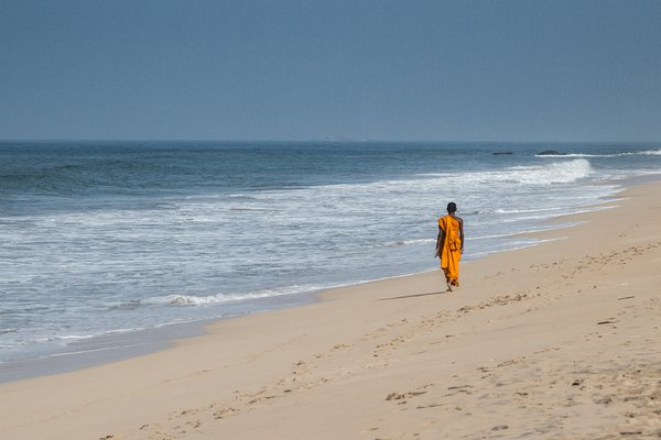 Buddhist and the ocean thumbnail