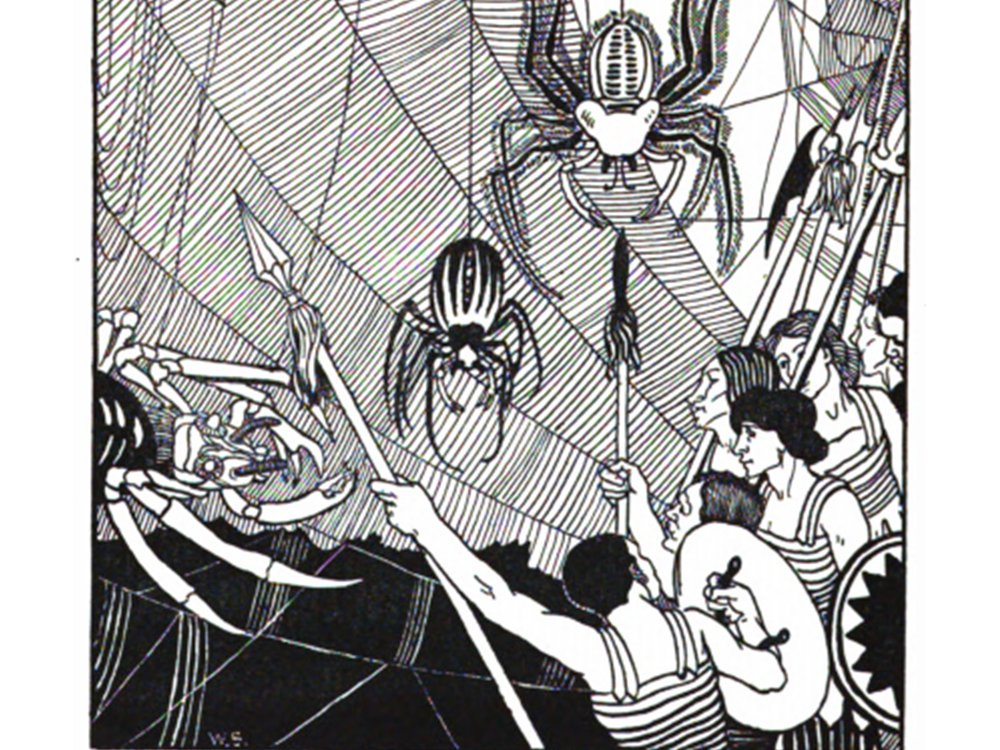 Lucian and Space Spiders