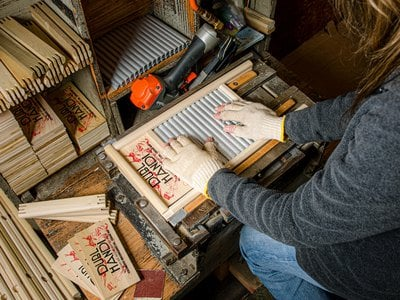 In a typical year, the Columbus Washboard Company in Logan, Ohio, sells about 80,000 washboards.