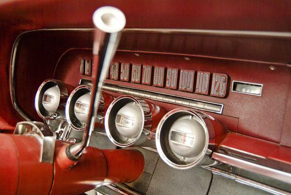 1965 Thunderbird dashboard thumbnail