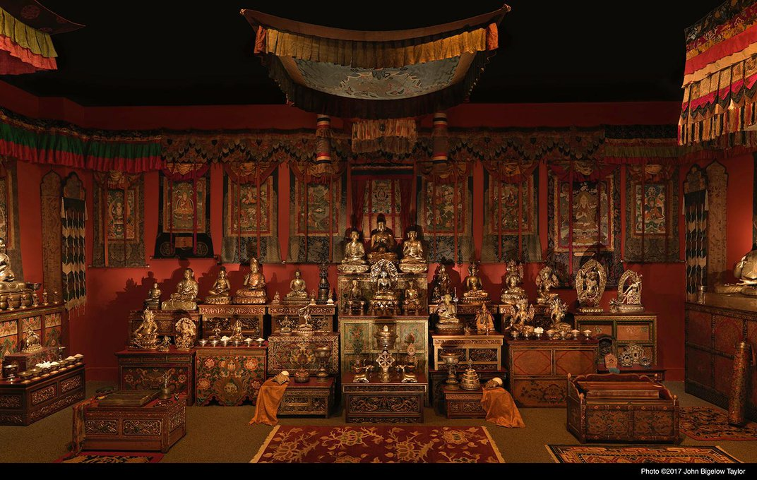 New Sackler Buddhist Exhibition Doubles the Immersive Experiences
