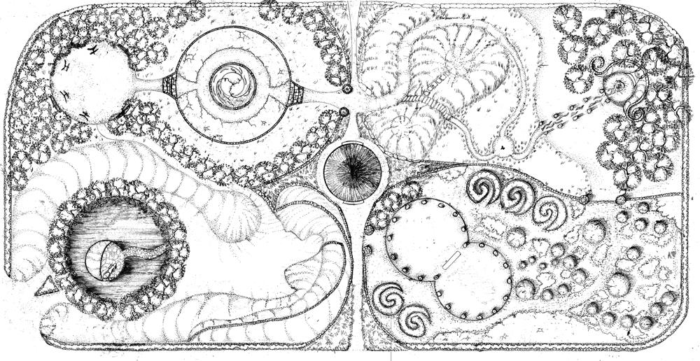 Diagram celtic gardens