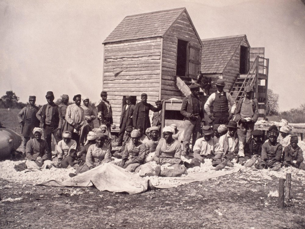 group of freed slaves