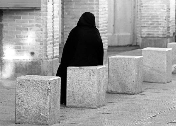 A woman with a black veil thumbnail