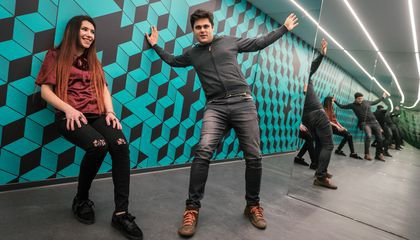 """From holograms to mirror mazes to """"Honey, I Shrunk the Kids"""" moments, this museum plays with perception, challenging your idea of what's up and what's down, what's real and what's an illusion. Be sure to bring your camera, as these 70 interactive installa"""