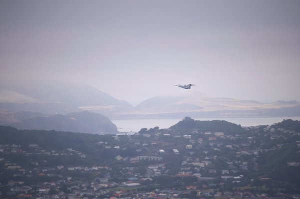 View from the top of Mount Victoria in Wellington, New Zealand thumbnail