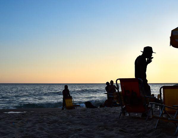 sunset on the beach thumbnail