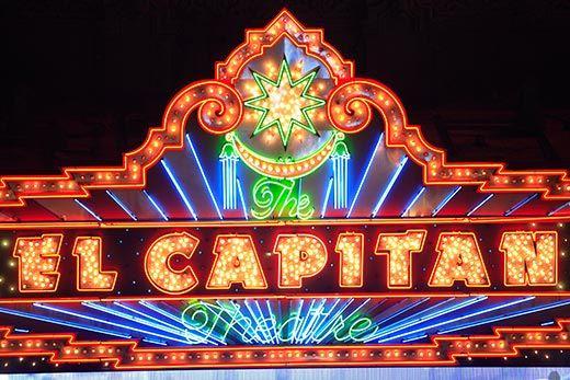 El Capitan Movie Theatre