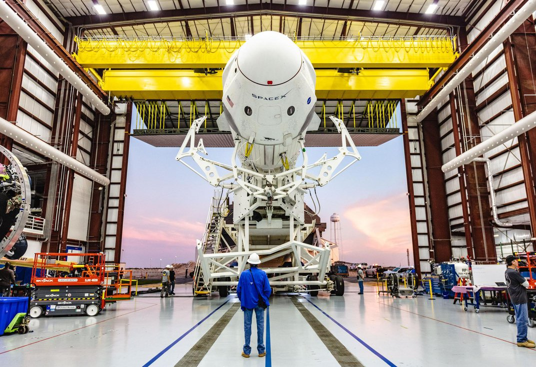 After a Successful Test Flight to the International Space Station, SpaceX Looks Ahead to Launching Astronauts