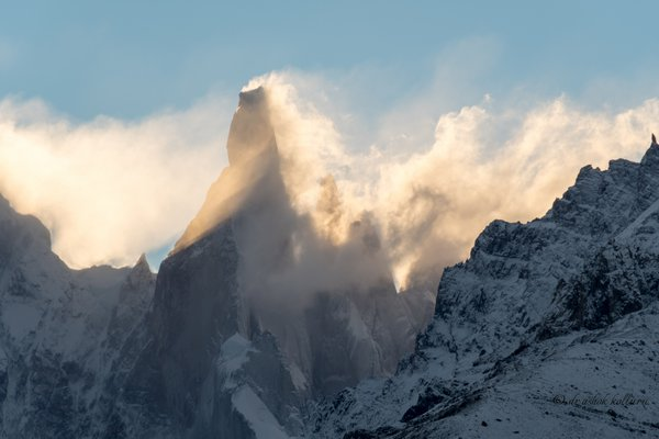 Iconic Cerro Torre at dusk thumbnail