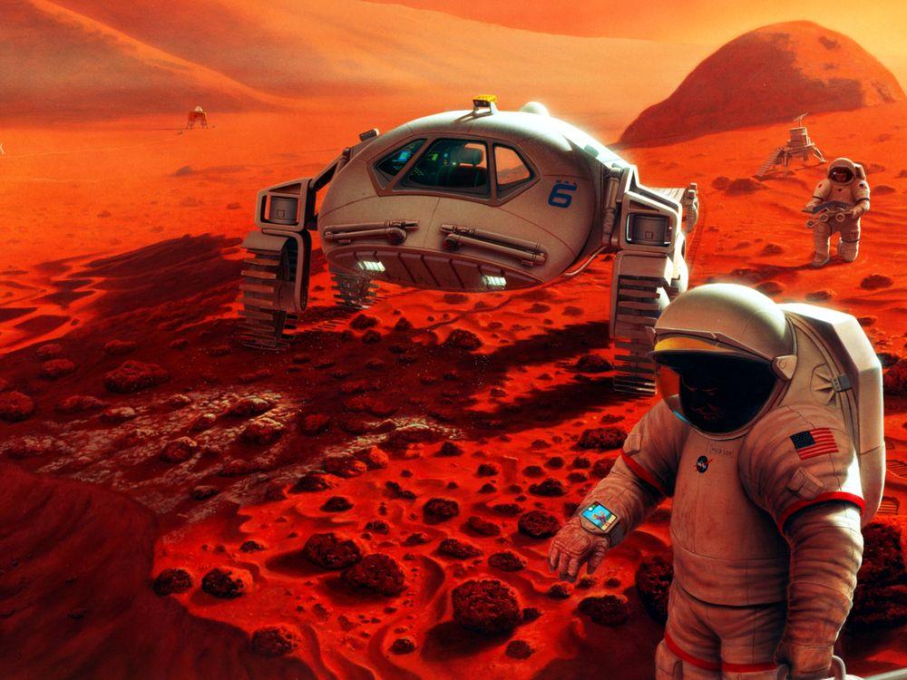 Mars Urine
