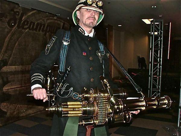 The Man With The Steam Punk Gun thumbnail