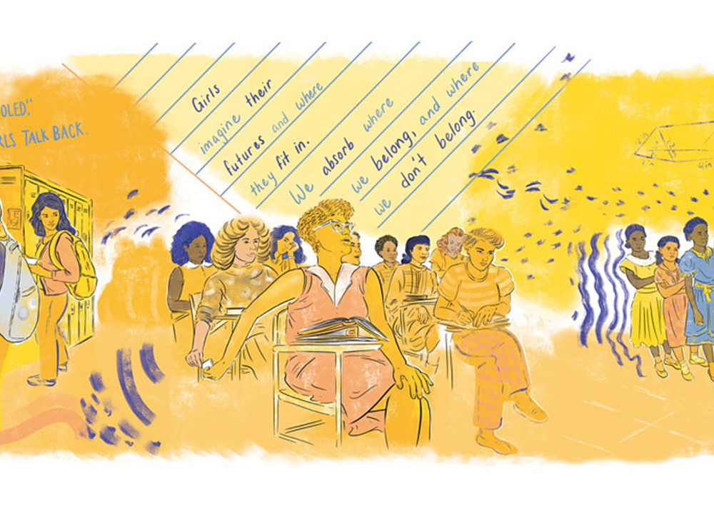 Hosted by the National Museum of American History, with participation from classrooms across the country, the 2021 National Youth Summit will examine the topic of gender equity, asking students to wrestle with history and take on challenging conversations. (Courtesy of National Museum of American History, Illustration by Krystal Quiles)