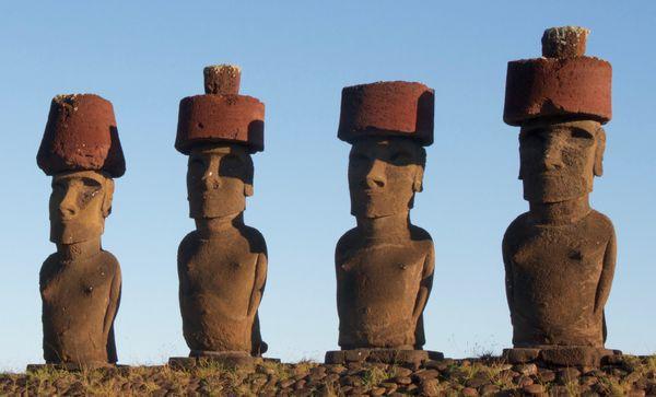 Moai on Easter Island thumbnail